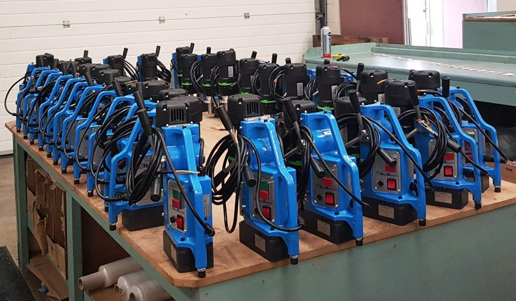 Magbroach Magbased Drilling Machines Ready to be shipped