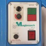 Magbroach Magnet Based Switch Panel Drilling Machine