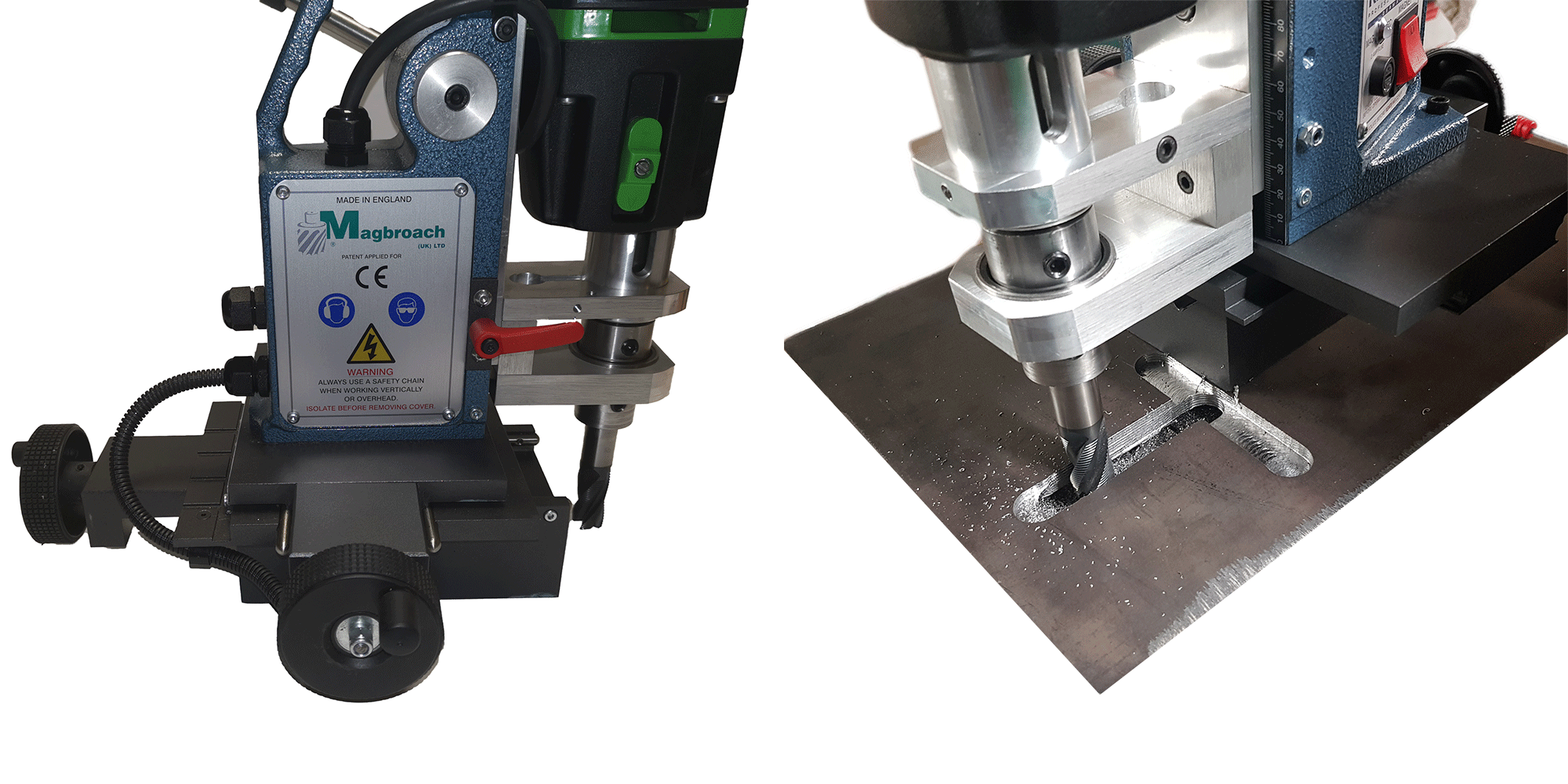 Three Axis XY Magnetic Drilling and Tapping Machine